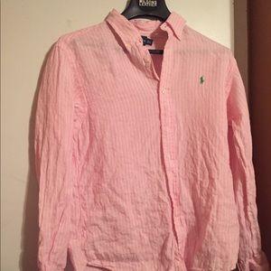 100% linen shirt